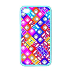 Pattern Factory 32a Apple Iphone 4 Case (color) by MoreColorsinLife