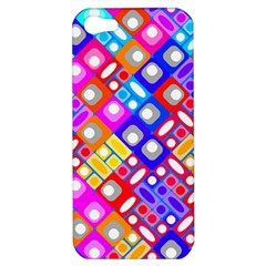 Pattern Factory 32a Apple Iphone 5 Hardshell Case by MoreColorsinLife