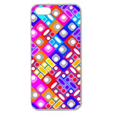 Pattern Factory 32a Apple Seamless Iphone 5 Case (clear) by MoreColorsinLife