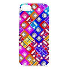 Pattern Factory 32a Apple Iphone 5s/ Se Hardshell Case by MoreColorsinLife