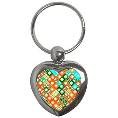 Pattern Factory 32c Key Chains (heart)  by MoreColorsinLife