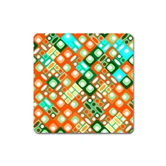 Pattern Factory 32c Square Magnet