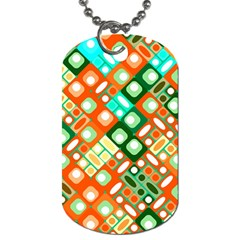 Pattern Factory 32c Dog Tag (one Side) by MoreColorsinLife