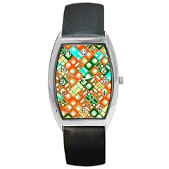 Pattern Factory 32c Barrel Style Metal Watch by MoreColorsinLife