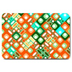 Pattern Factory 32c Large Doormat  by MoreColorsinLife
