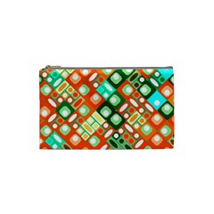 Pattern Factory 32c Cosmetic Bag (small)  by MoreColorsinLife