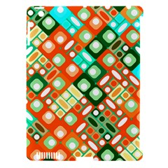Pattern Factory 32c Apple Ipad 3/4 Hardshell Case (compatible With Smart Cover) by MoreColorsinLife