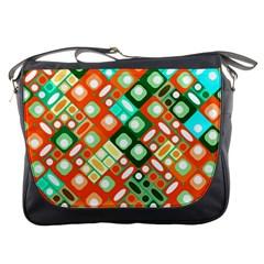 Pattern Factory 32c Messenger Bags by MoreColorsinLife