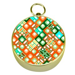 Pattern Factory 32c Gold Compasses by MoreColorsinLife