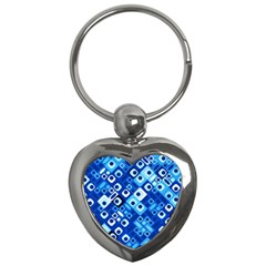 Pattern Factory 32e Key Chains (heart)  by MoreColorsinLife