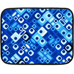 Pattern Factory 32e Double Sided Fleece Blanket (mini)  by MoreColorsinLife