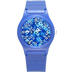 Pattern Factory 32e Round Plastic Sport Watch (s) by MoreColorsinLife