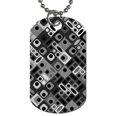 Pattern Factory 32f Dog Tag (one Side) by MoreColorsinLife