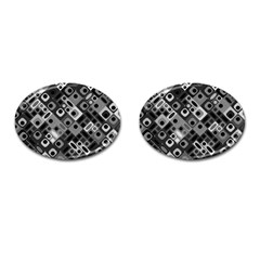 Pattern Factory 32f Cufflinks (oval) by MoreColorsinLife