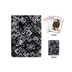 Pattern Factory 32f Playing Cards (mini)  by MoreColorsinLife