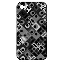 Pattern Factory 32f Apple Iphone 4/4s Hardshell Case (pc+silicone) by MoreColorsinLife