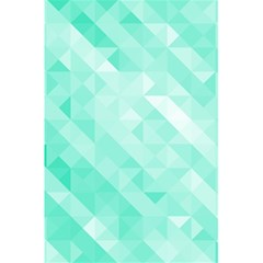 Bright Green Turquoise Geometric Background 5 5  X 8 5  Notebooks