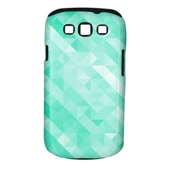 Bright Green Turquoise Geometric Background Samsung Galaxy S Iii Classic Hardshell Case (pc+silicone)