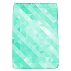 Bright Green Turquoise Geometric Background Flap Covers (l)