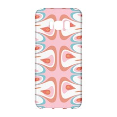 Algorithmic Abstract Shapes Samsung Galaxy S8 Hardshell Case  by linceazul