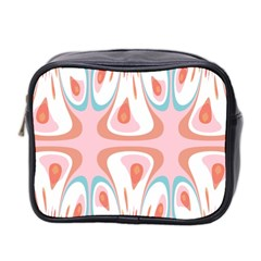 Algorithmic Abstract Shapes Mini Toiletries Bag 2 Side by linceazul