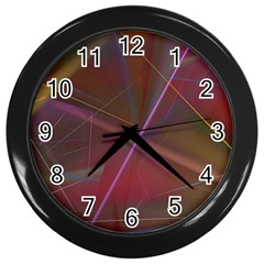 80sraveparty Wall Clocks (black) by designsbyamerianna