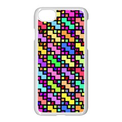 80sblox Apple Iphone 7 Seamless Case (white) by designsbyamerianna