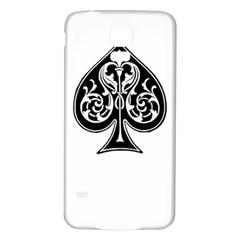 Acecard Samsung Galaxy S5 Back Case (white)