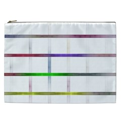 Blurred Lines Cosmetic Bag (xxl)  by designsbyamerianna
