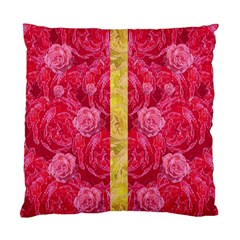 Rose And Roses And Another Rose Standard Cushion Case (one Side) by pepitasart