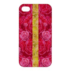 Rose And Roses And Another Rose Apple Iphone 4/4s Hardshell Case by pepitasart
