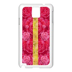 Rose And Roses And Another Rose Samsung Galaxy Note 3 N9005 Case (white) by pepitasart