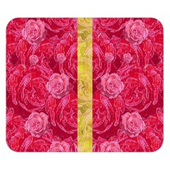Rose And Roses And Another Rose Double Sided Flano Blanket (small)  by pepitasart