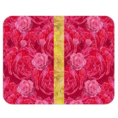 Rose And Roses And Another Rose Double Sided Flano Blanket (medium)  by pepitasart