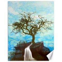 Single Tree Canvas 18  X 24