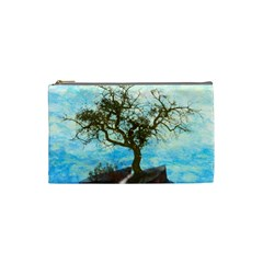 Single Tree Cosmetic Bag (small)  by berwies