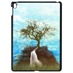 Single Tree Apple Ipad Pro 9 7   Black Seamless Case by berwies