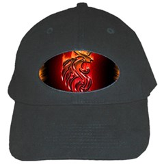 Dragon Fire Black Cap