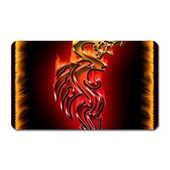 Dragon Fire Magnet (rectangular)