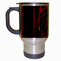 Dragon Fire Travel Mug (silver Gray)