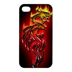 Dragon Fire Apple Iphone 4/4s Hardshell Case