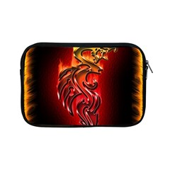 Dragon Fire Apple Ipad Mini Zipper Cases