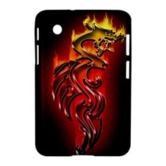 Dragon Fire Samsung Galaxy Tab 2 (7 ) P3100 Hardshell Case