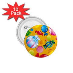 Sweets And Sugar Candies Vector  1 75  Buttons (10 Pack)