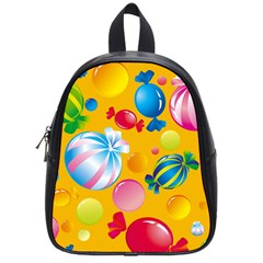Sweets And Sugar Candies Vector  School Bags (small)