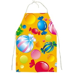 Sweets And Sugar Candies Vector  Full Print Aprons