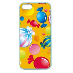 Sweets And Sugar Candies Vector  Apple Seamless Iphone 5 Case (color) by BangZart