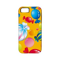 Sweets And Sugar Candies Vector  Apple Iphone 5 Classic Hardshell Case (pc+silicone) by BangZart