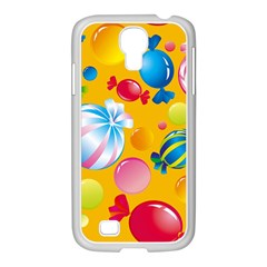 Sweets And Sugar Candies Vector  Samsung Galaxy S4 I9500/ I9505 Case (white) by BangZart