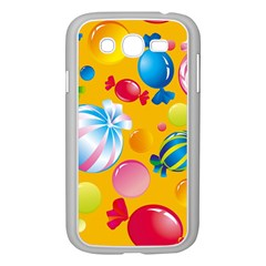 Sweets And Sugar Candies Vector  Samsung Galaxy Grand Duos I9082 Case (white)